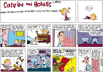 Calvin and Hobbes (November 24, 1985)