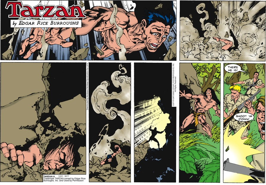 Tarzan Comic Strip for December 01, 2019