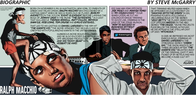 Biographic - Sunday February 21, 2021 Comic Strip