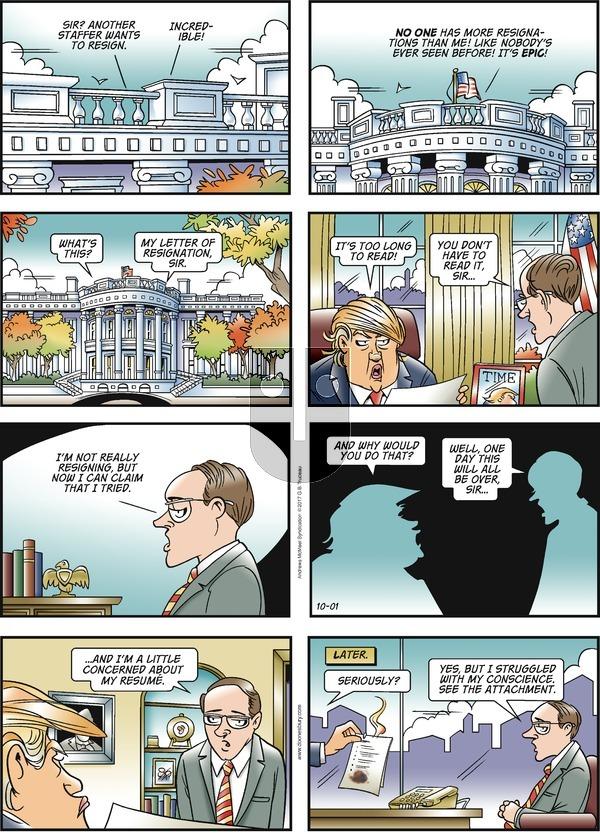 Doonesbury on Sunday October 1, 2017 Comic Strip