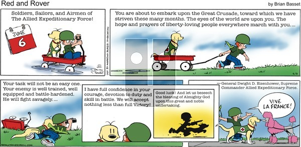Red and Rover on Sunday June 6, 2021 Comic Strip