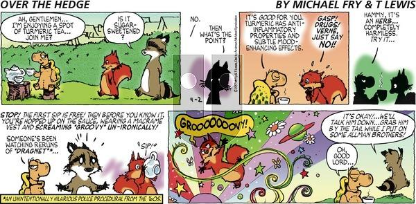 Over the Hedge - Sunday April 2, 2017 Comic Strip
