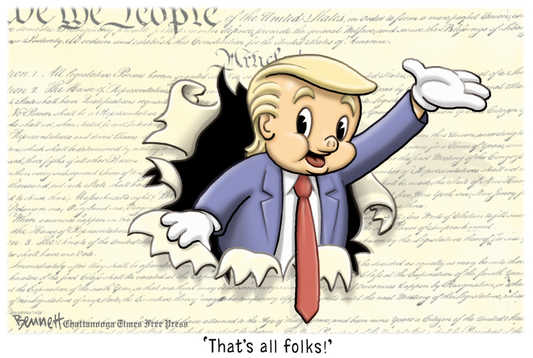Clay Bennett by Clay Bennett for May 06, 2019