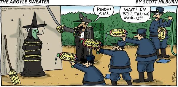 The Argyle Sweater on Sunday August 23, 2015 Comic Strip