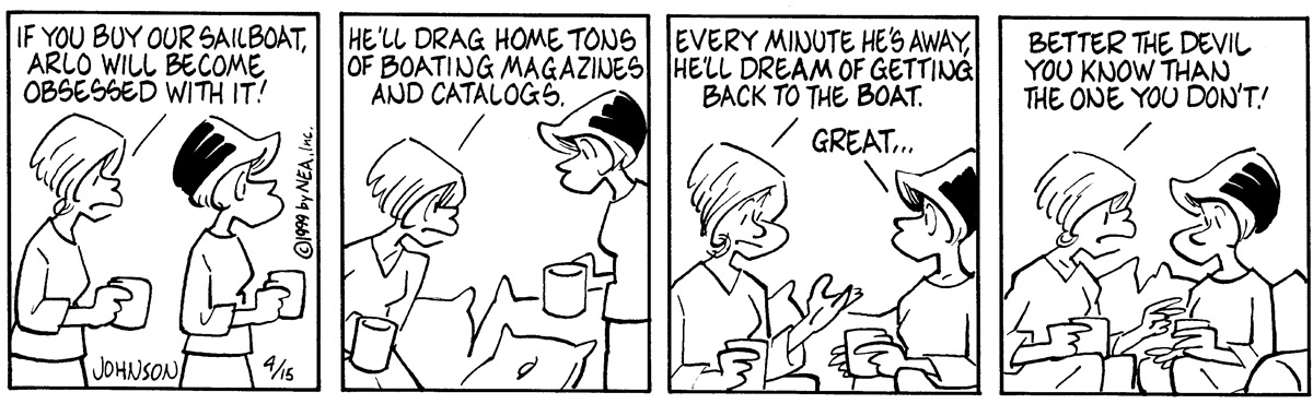 Arlo and Janis for Apr 15, 1999 Comic Strip