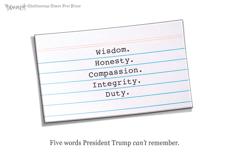 Clay Bennett Comic Strip for July 28, 2020