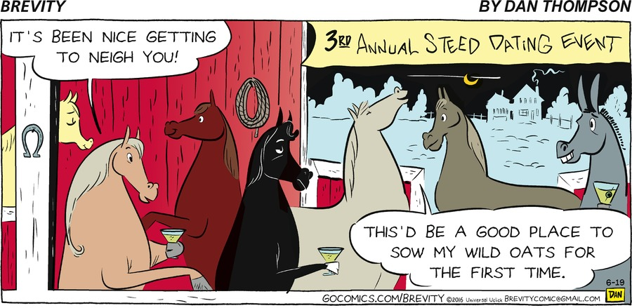 Brevity for Jun 19, 2016 Comic Strip