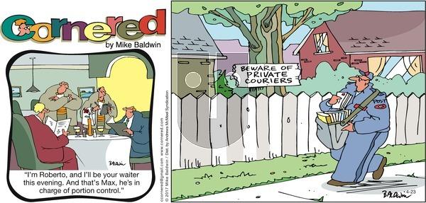 Cornered on Sunday April 23, 2017 Comic Strip