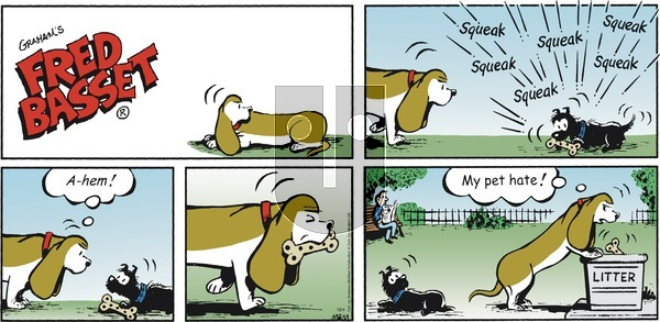 Fred Basset on Sunday October 4, 2020 Comic Strip