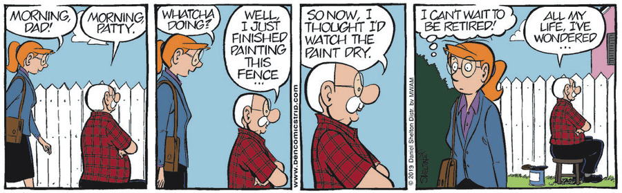 Ben Comic Strip for June 14, 2019