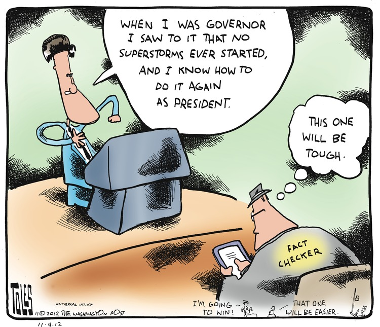Tom Toles Comic Strip for November 04, 2012