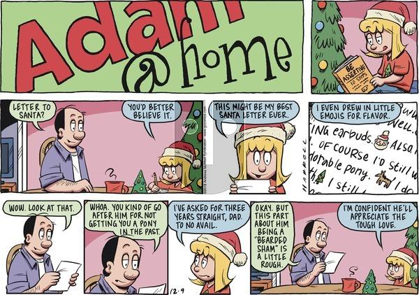 Adam@Home on Sunday December 9, 2018 Comic Strip