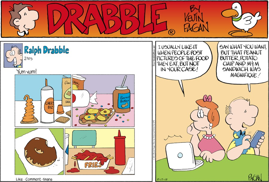 Drabble Comic Strip for May 17, 2015