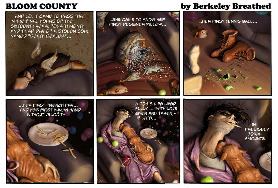 Bloom County 2019 Comic Strip for January 07, 2020