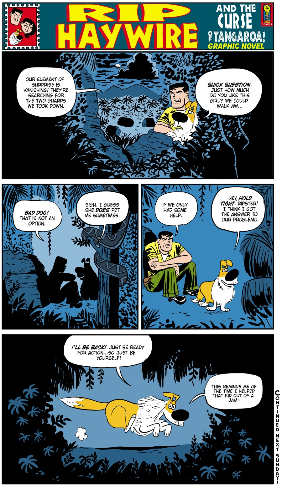 Rip Haywire Comic Strip for June 29, 2014