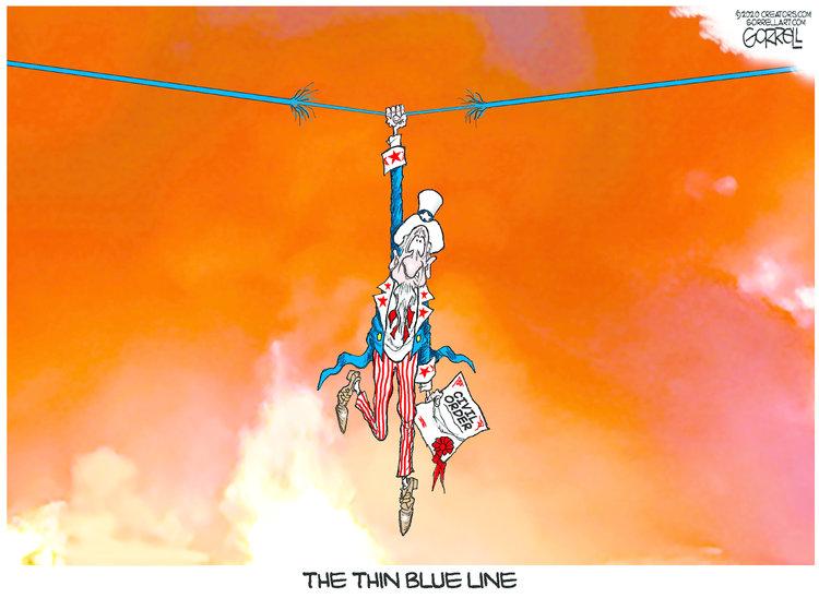 Bob Gorrell Comic Strip for September 23, 2020