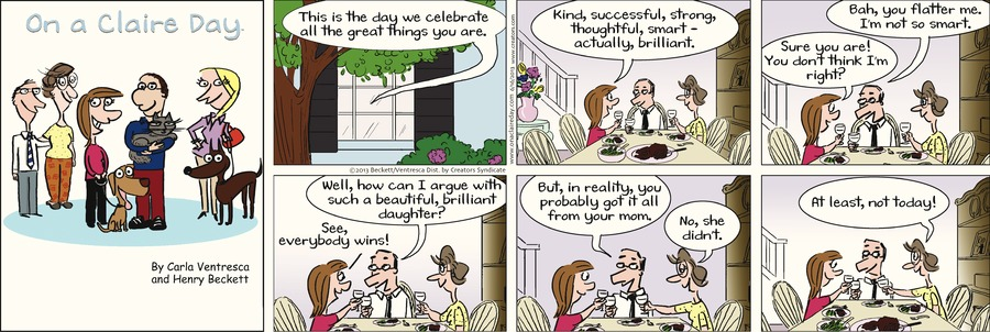 On A Claire Day Comic Strip for June 14, 2021