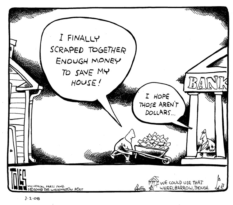 Tom Toles for Mar 2, 2008 Comic Strip