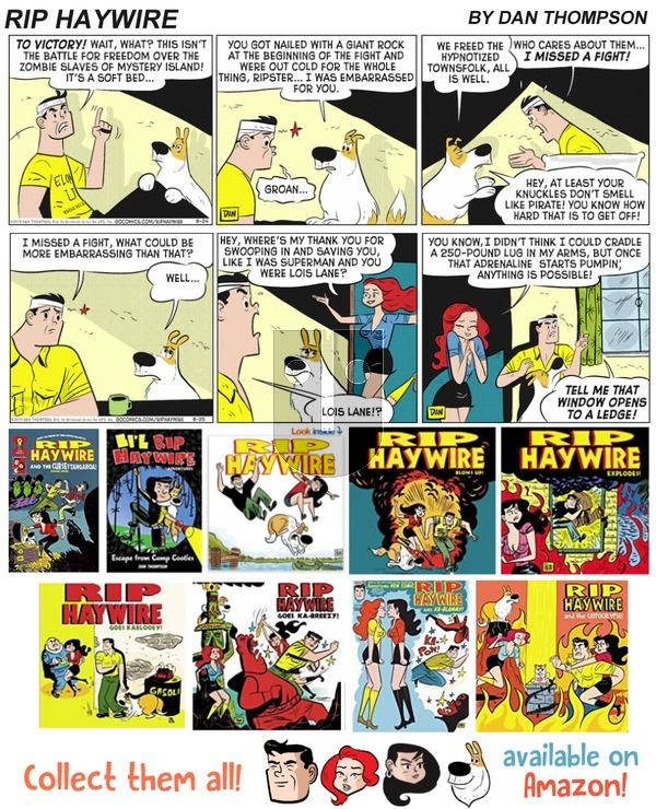 Rip Haywire on Sunday March 11, 2018 Comic Strip