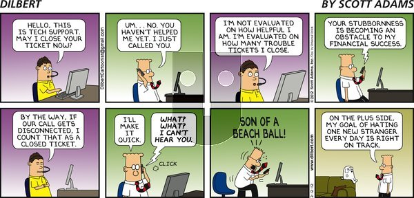 Dilbert - Sunday February 12, 2012 Comic Strip