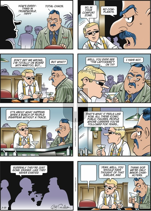 Doonesbury on Sunday February 25, 2018 Comic Strip