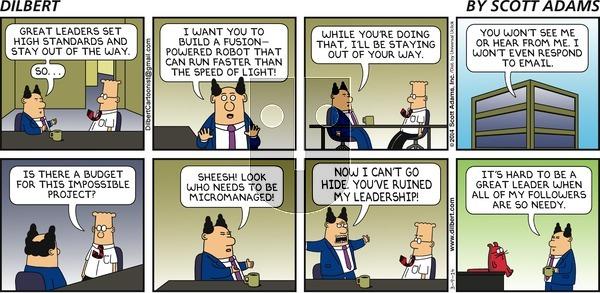 Dilbert - Sunday March 9, 2014 Comic Strip