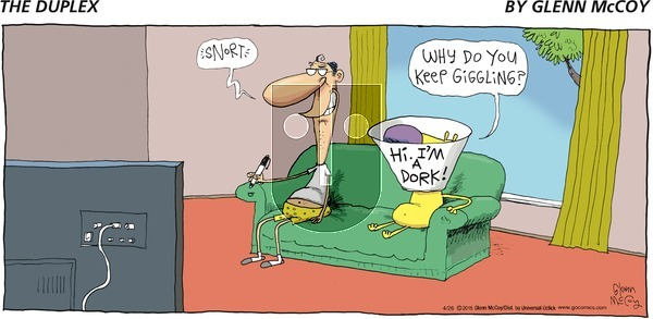 The Duplex on Sunday April 26, 2015 Comic Strip