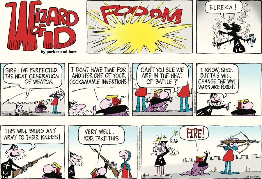 Wizard of Id Comic Strip for July 31, 2016