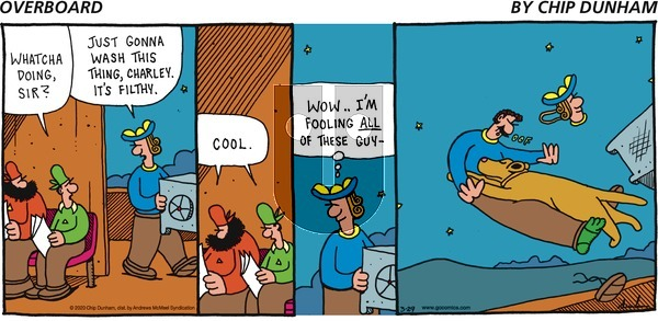 Overboard on Sunday March 29, 2020 Comic Strip