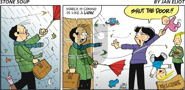 Stone Soup on Sunday March 1, 2020 Comic Strip