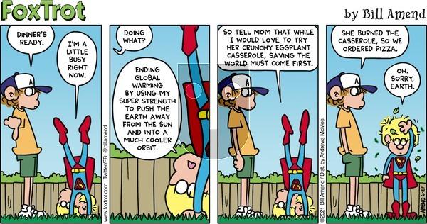 FoxTrot - Sunday June 27, 2021 Comic Strip