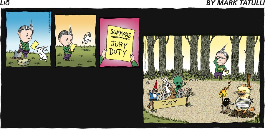 Lio Comic Strip for August 22, 2010