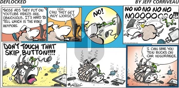 DeFlocked on Sunday April 29, 2018 Comic Strip