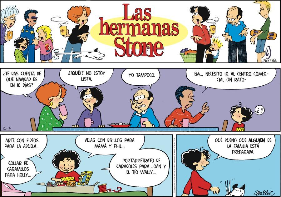 Las Hermanas Stone by Jan Eliot on Sun, 15 Dec 2019