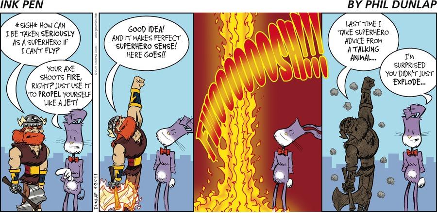 Ink Pen Comic Strip for September 25, 2011