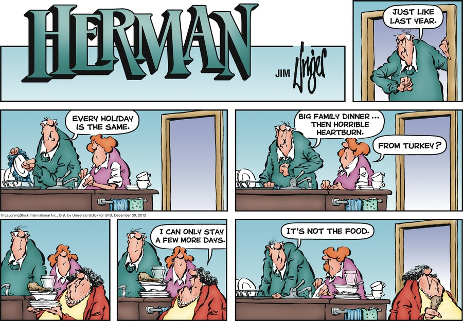 Herman for Dec 30, 2012 Comic Strip