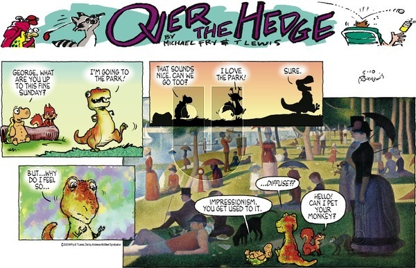Over the Hedge on Sunday May 10, 2020 Comic Strip