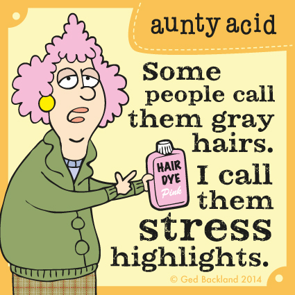 Aunty Acid for Jan 24, 2014 Comic Strip