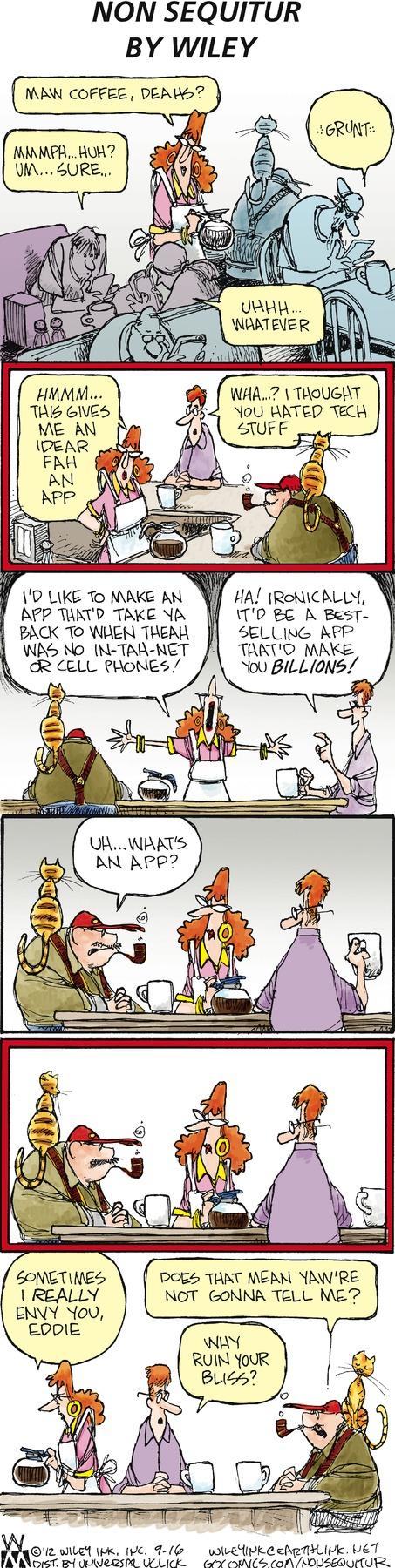 Non Sequitur Comic Strip for September 16, 2012