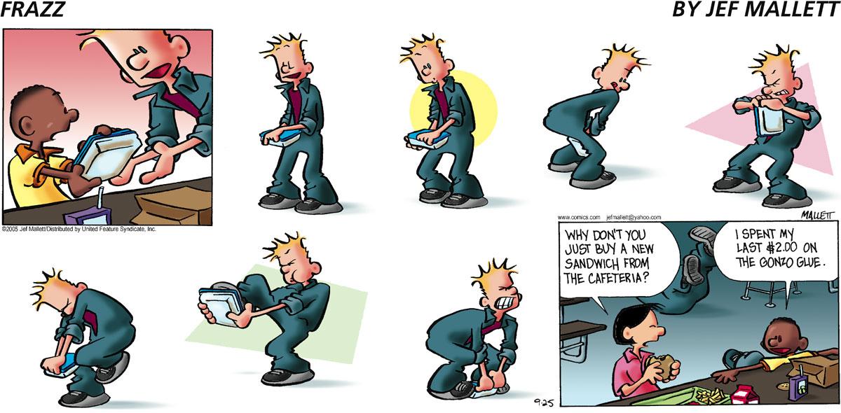 Frazz Comic Strip for September 25, 2005