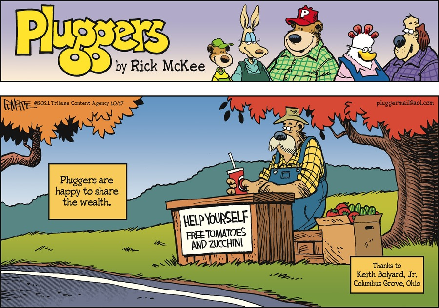 Pluggers by Rick McKee on Sun, 17 Oct 2021