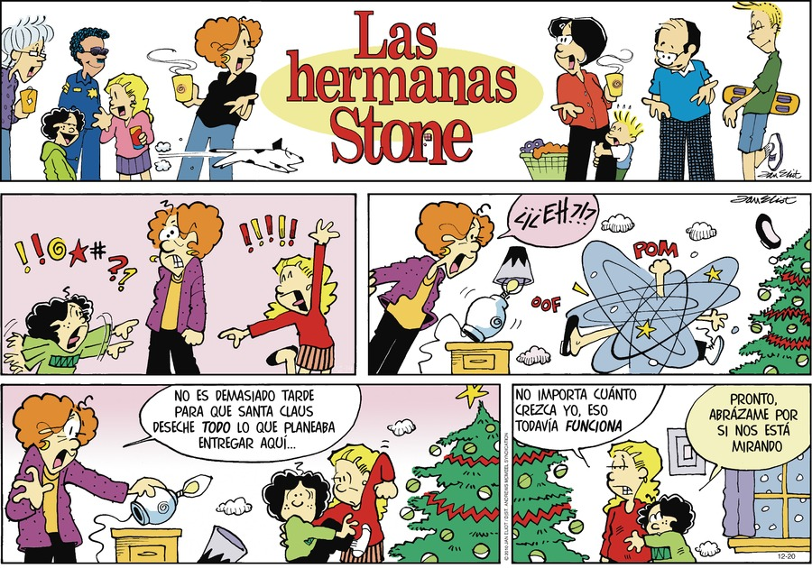 Las Hermanas Stone by Jan Eliot on Sun, 20 Dec 2020
