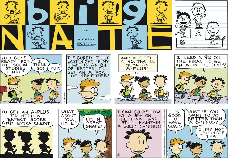 Big Nate by Lincoln Peirce on Sun, 14 Jun 2020