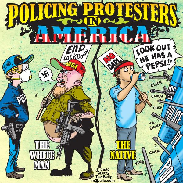 M2Bulls Comic Strip for May 07, 2020