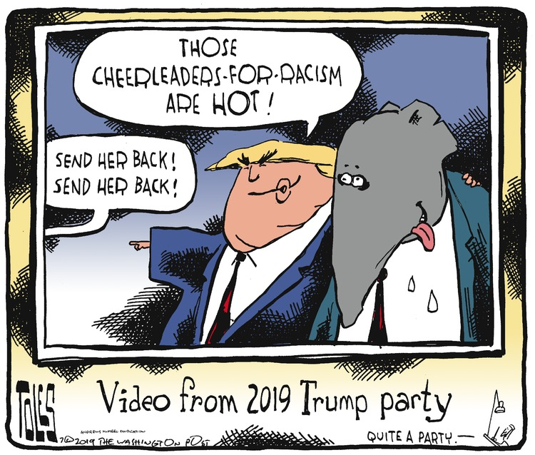 Tom Toles Comic Strip for July 21, 2019