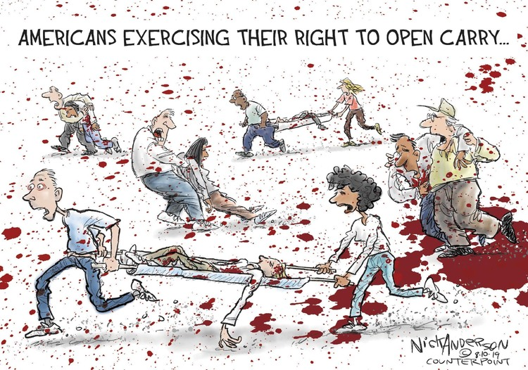 Nick Anderson Comic Strip for August 10, 2019