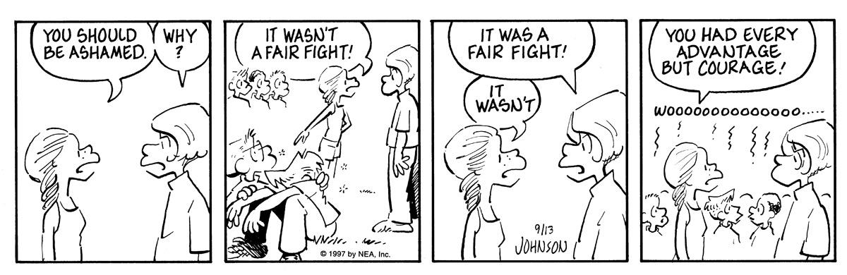 Arlo and Janis for Sep 13, 1997 Comic Strip