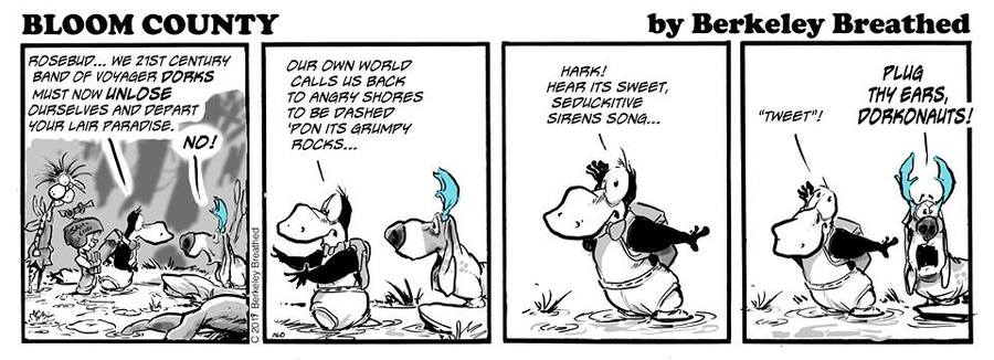 Bloom County 2018 by Berkeley Breathed for April 04, 2019