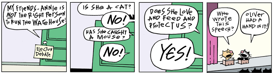 Ten Cats Comic Strip for February 21, 2020