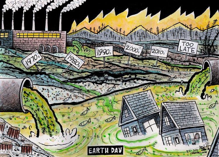 Chris Britt Comic Strip for April 21, 2021